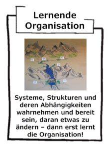 Lernende Organisation holt ab und aktiviert