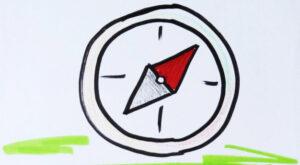 Der Lernkompass hilft uns Orientierung zu finden