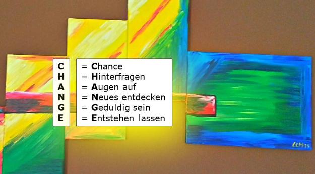Change und Chance hängen zusammen