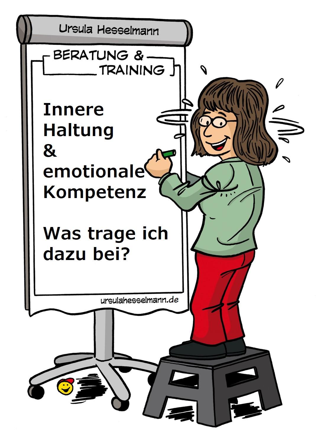 eine positive innere Haltung ist auch emotionale Kompetenz